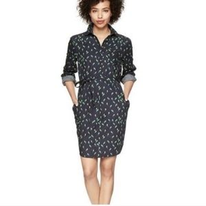 GAP Designed and Crafted Bird Shirt Dress L